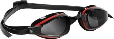 Aqua Sphere K180 Zwembril donkere lens rood/zwart