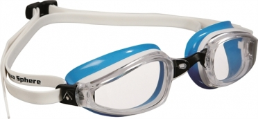 Aqua Sphere K180 Lady Zwembril transparante lens wit