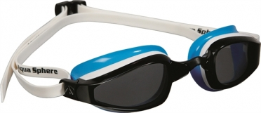 Aqua Sphere K180 Lady Zwembril donkere lens wit