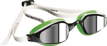 Aqua Sphere K180 Zwembril spiegellens wit/groen