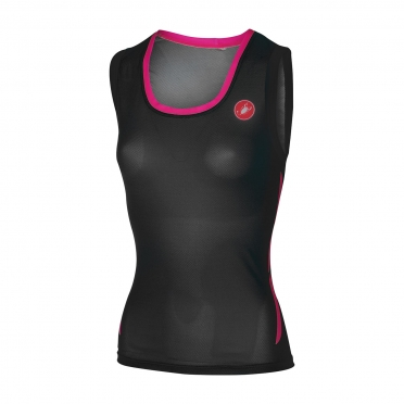 Castelli Alii run top zwart dames 16074-010