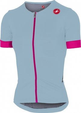 Castelli Free speed W race jersey tri top blauw/rose dames
