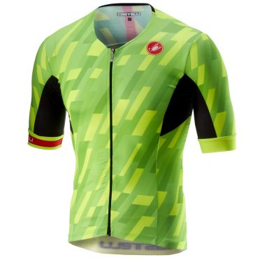Castelli Free speed race jersey tri top pro groen heren