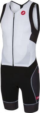 Castelli Free sanremo trisuit mouwloos wit/zwart heren