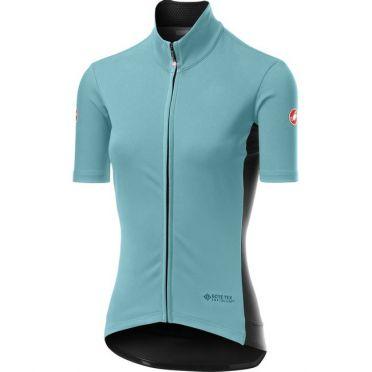 Castelli Perfetto RoS Light SS lichtblauw fietsshirt dames