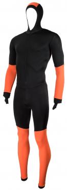 Craft Speed schaatspak CB zwart/oranje unisex