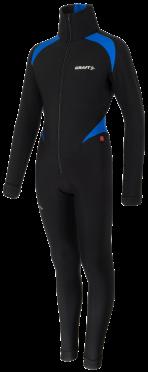 Craft Thermo Schaatspak CB zwart/blauw unisex