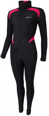 Craft Thermo Schaatspak CB zwart/roze unisex