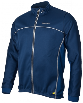 Craft Thermo Schaatsjack windstopper flatlock navy unisex