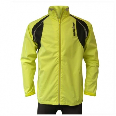 Ironman running jacket yellow-black