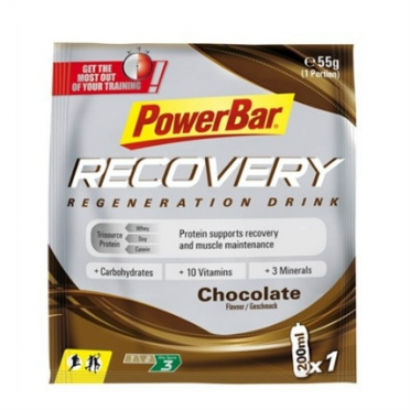 Powerbar drink recovery sachets 20 x 55 gram