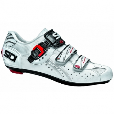 Sidi genius 5 fit carbon raceschoen wit