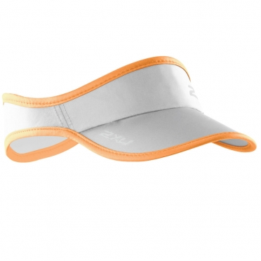 2XU Run Visor zonneklep oranje 2015 model