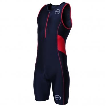 Zone3 Activate tri suit zwart/rood heren
