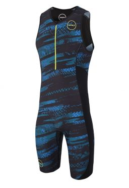 Zone3 Activate plus mouwloos trisuit Stealth speed heren