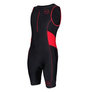 Zone3 Activate trisuit mouwloos zwart/rood heren