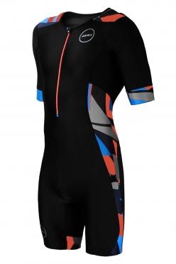 Zone3 Activate Plus Trisuit Korte Mouwen Zwart/Camo heren