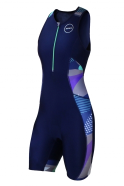 Zone3 Activate Plus Trisuit Blauw/Camo Dames