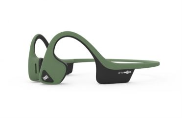 Aftershokz Trekz air forest green sport hoofdtelefoon