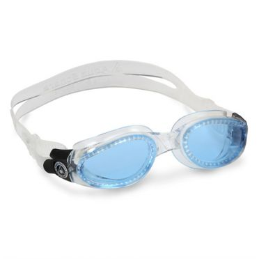 Aqua Sphere Kaiman blauwe lens zwembril