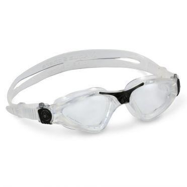 Aqua Sphere Kayenne Zwembril transparante lens zilver
