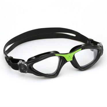 Aqua Sphere Kayenne Zwembril transparante lens zwart/groen