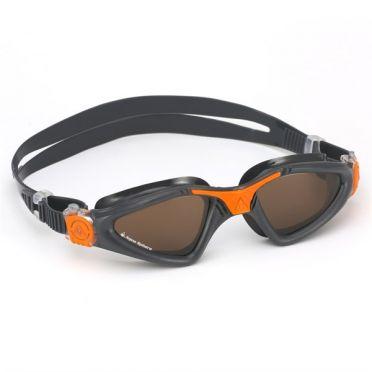 Aqua Sphere Kayenne gepolariseerde lens Zwembril grijs/oranje