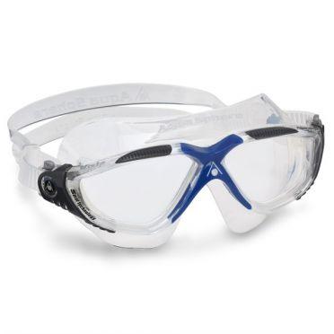 Aqua Sphere Vista transparante lens zwembril grijs