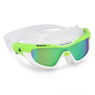 Aqua Sphere Vista Pro multilayer mirror lens zwembril groen/wit
