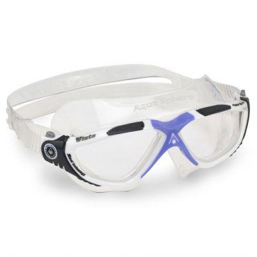 Aqua Sphere Vista Lady transparante lens zwembril zilver/paars