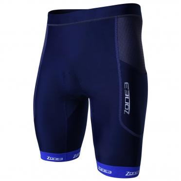 Zone3 Aquaflo plus tri short blauw/grijs heren