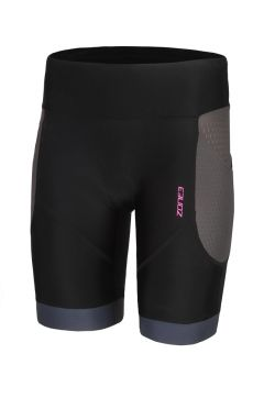 Zone3 Aquaflo plus tri shorts zwart dames