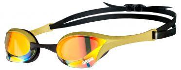 Arena Cobra ultra swipe mirror zwembril goud/zwart