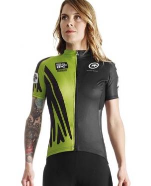 Assos Cape Epic XC evo7 SS fietsshirt groen dames