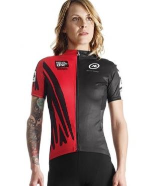 Assos Cape Epic XC evo7 SS fietsshirt rood dames