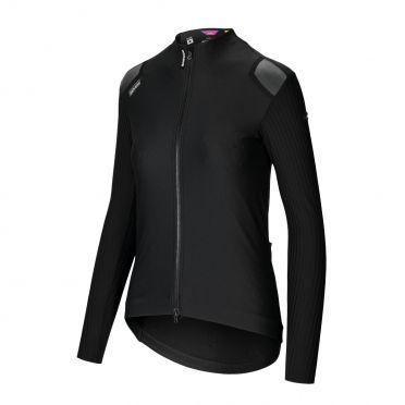 Assos Dyora RS spring fall fietsjack zwart dames