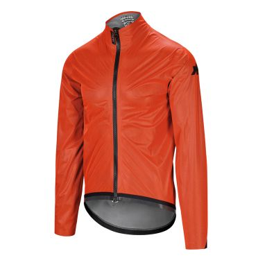 Assos Equipe RS regen targa fietsjack oranje heren