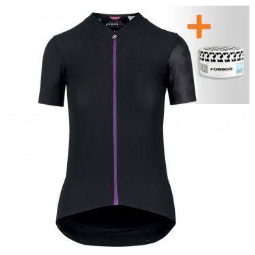 Assos Dyora RS Aero fietsshirt SS zwart dames