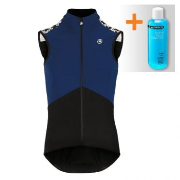 Assos Mille GT Spring fall Airblock vest blauw heren