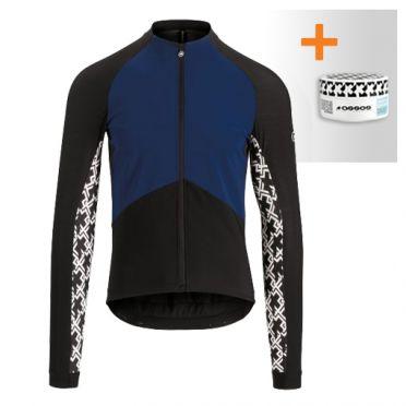 Assos Mille GT spring fall lange mouw jacket blauw heren