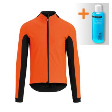 Assos Mille GT ultraz winter lange mouw jacket rood heren