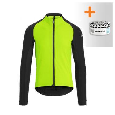 Assos Mille GT winter lange mouw jacket groen heren