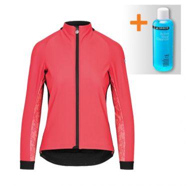 Assos Uma GT winter lange mouw jacket roze dames