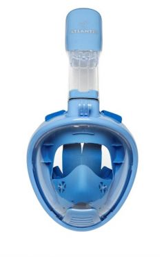 Atlantis 2.0 Kids Full face snorkelmasker blauw