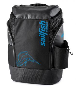 Sailfish Triathlon rugzak cape town 35 liter zwart/blauw
