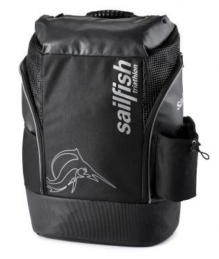 Sailfish Triathlon rugzak cape town 35 liter zwart/zilver