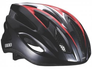 BBB Fietshelm Condor zwart/rood