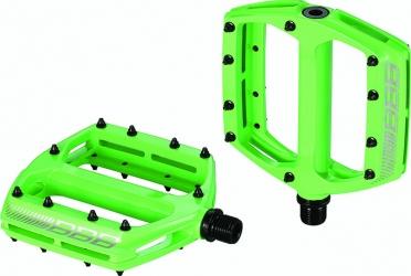 BBB Coolride BPD-16 MTB pedalen groen