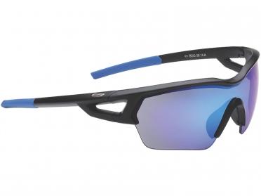 BBB Sportbril Arriver blauw/MLC mat zwart