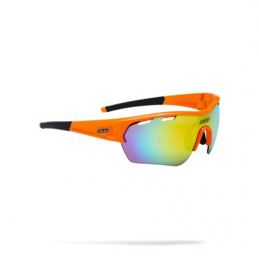 BBB Sportbril Select XL MLC glossy oranje